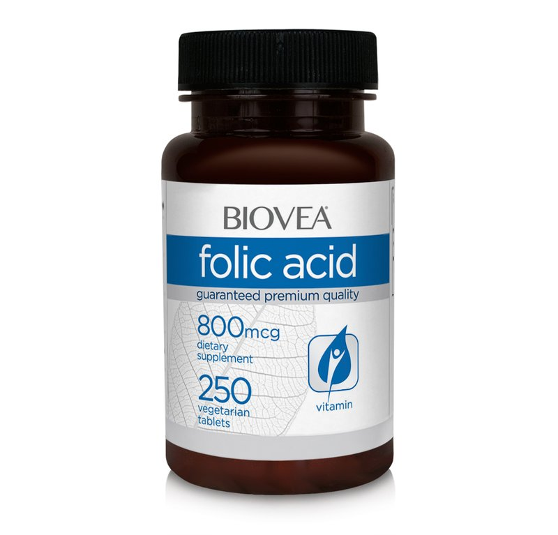Acid Folic 800 mcg 250 tablete